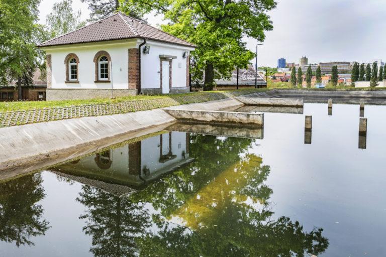 úpravna vody v Plzni na Homolce