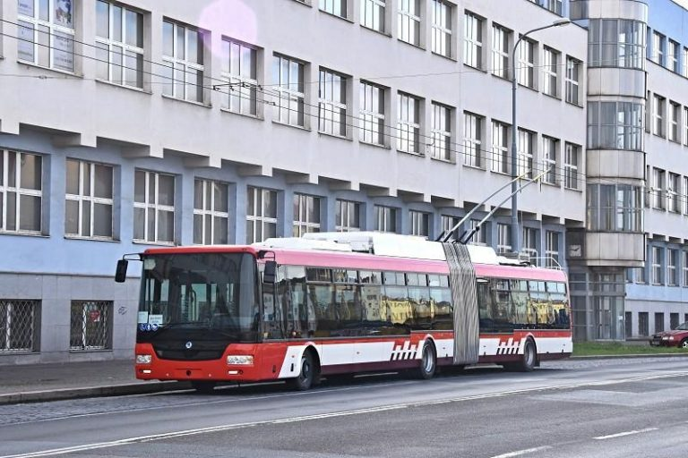 Trolejbusy 2021 - oslavy výročí výroby a zahájení provozu