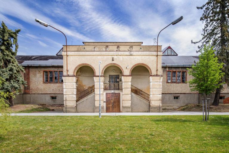 Historická budova vodárna Plzeň
