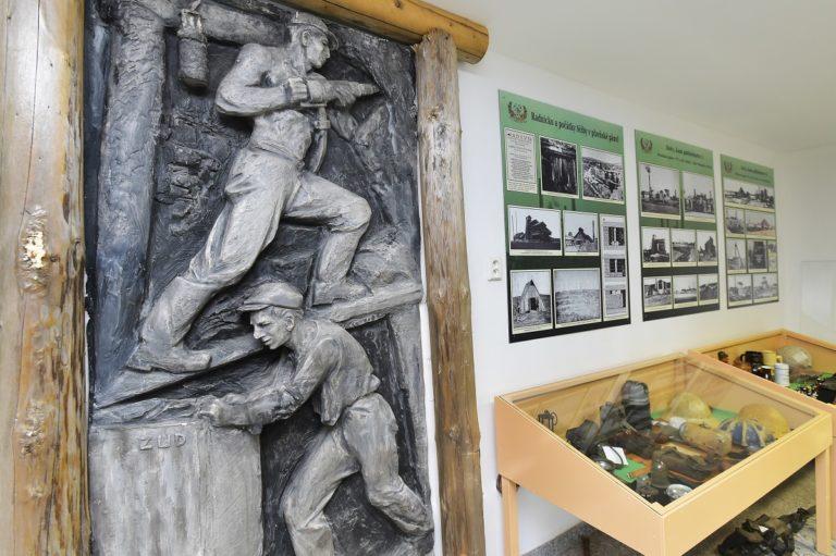 Expozice hornického muzea ve Zbůchu