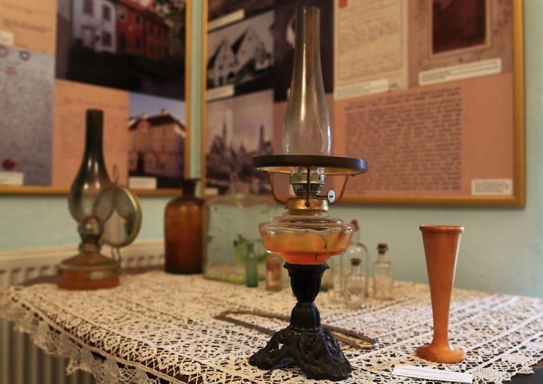 Interiér Muzea rodiny Škodů.