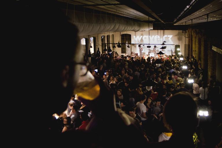 Koncert v plzeňské Papírně.
