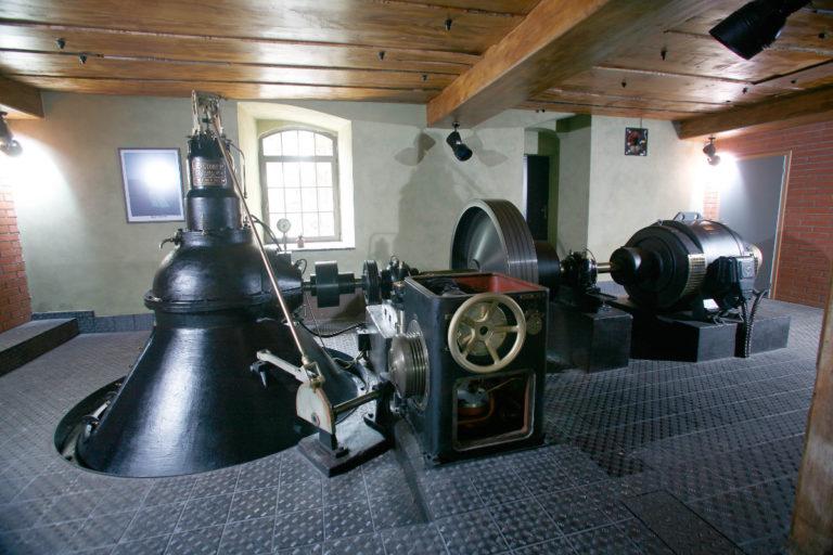 Turbína Kalikovský mlýn Plzeň