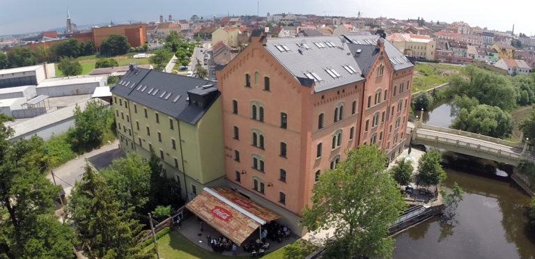 Budova Kalikovského mlýna v Plzni