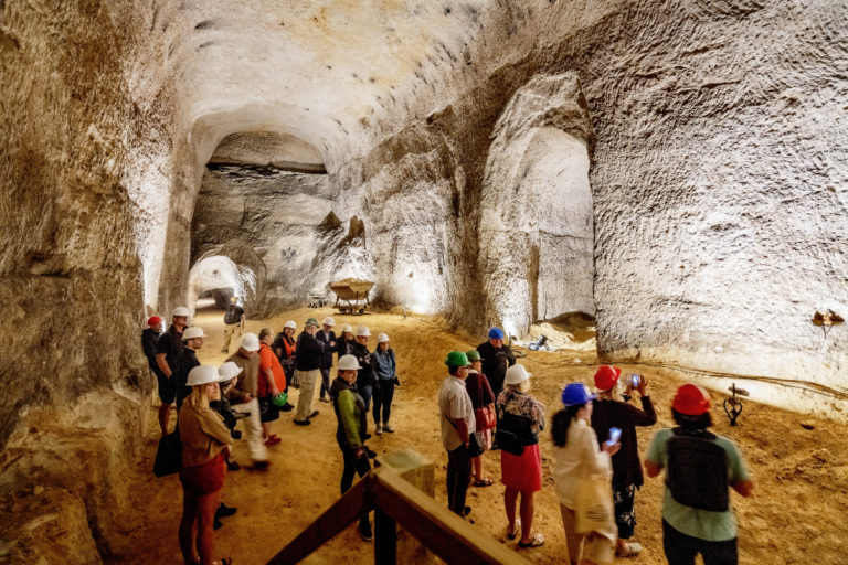 návštěvníci kaolinový důl nevřeň
