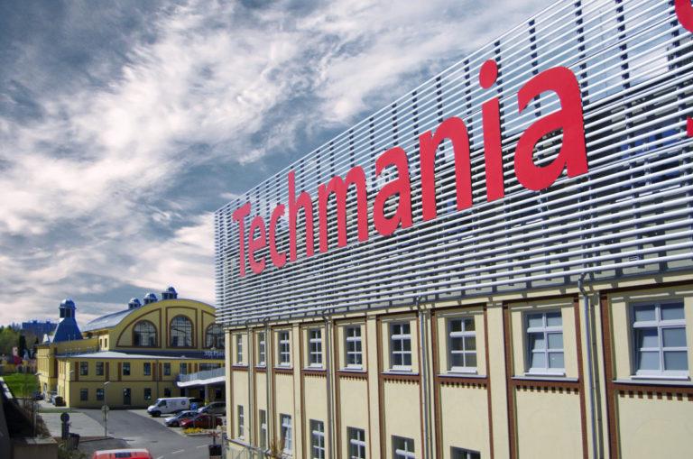 Techmania Plzeň budoba