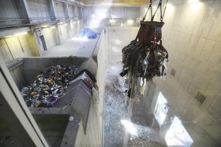Spalování odpadu