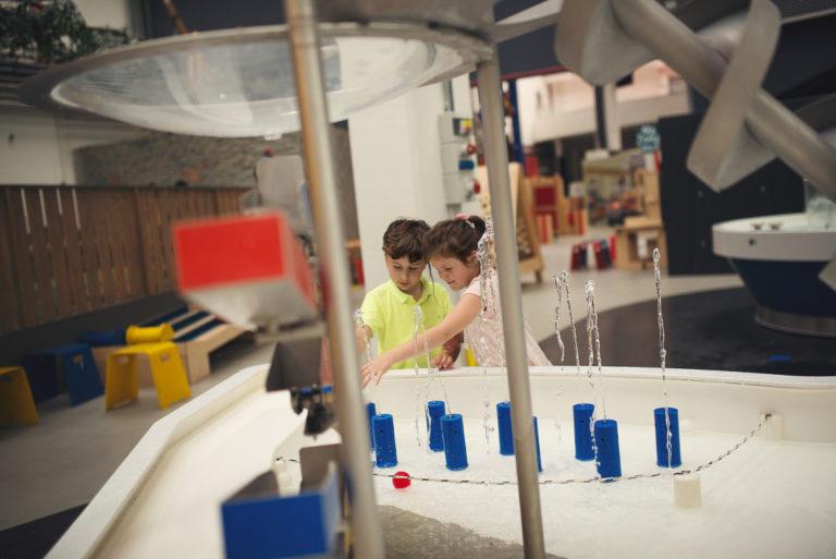 expozice techmania děti vodní svět
