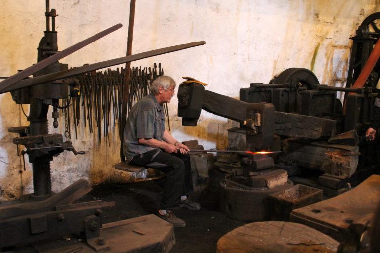 kovářská dílna vodní hamr dobřív