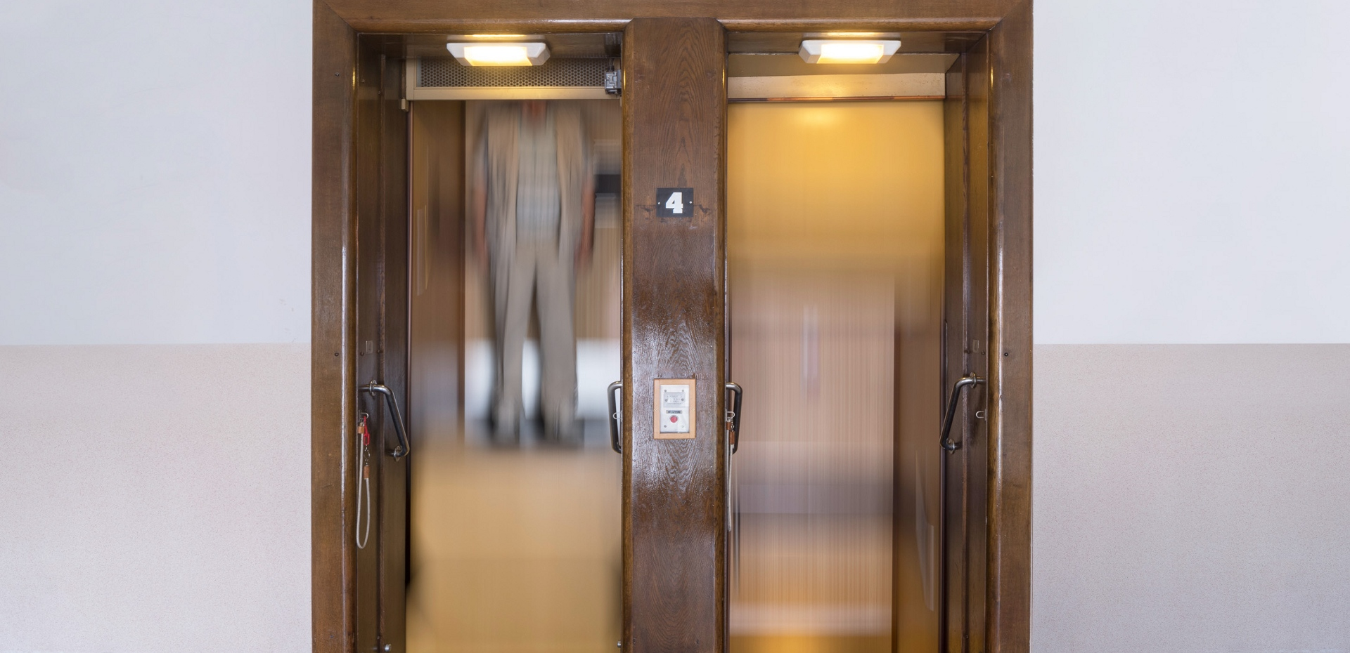 výtah páternoster úřad Plzeň