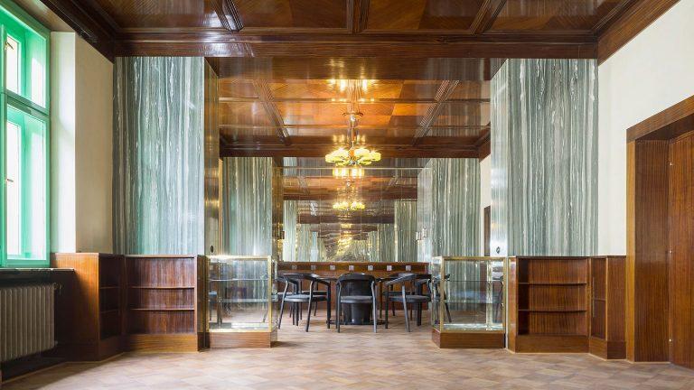 Byt Krausových – Loosovy interiéry