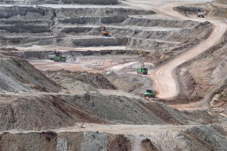 Kaolinový důl Kaznějov