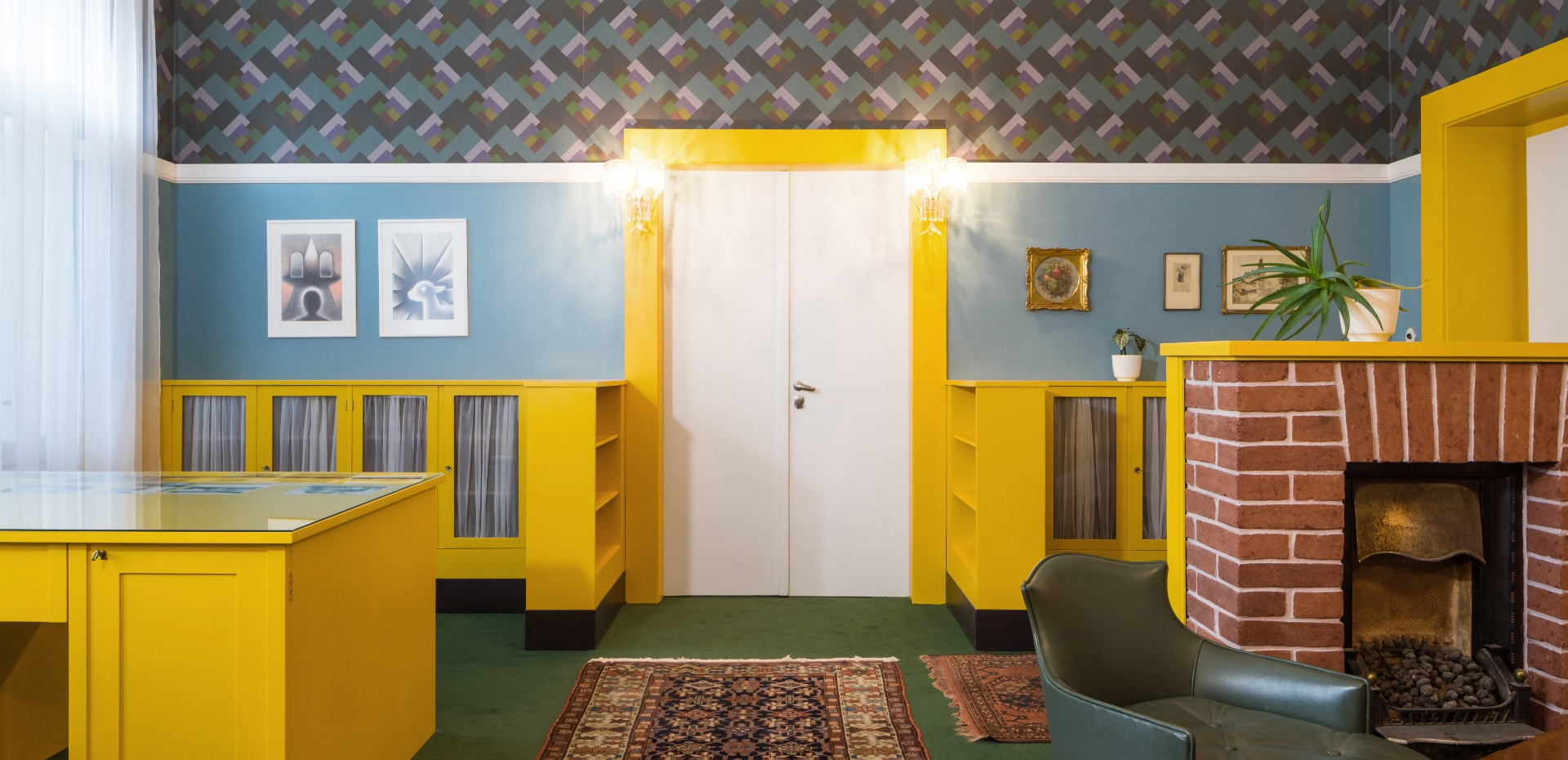 Loosovy interiéry v Plzni Brummelův dům