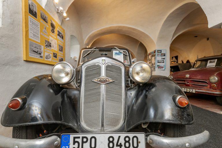 muzeum dvoutaktů Plzeň Lobzy
