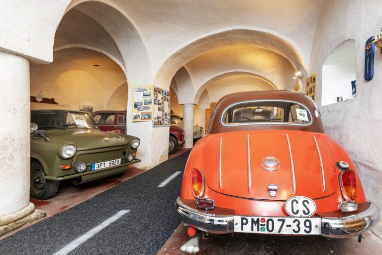 muzeum dv trabantoutaktů Plzeň Lobzy