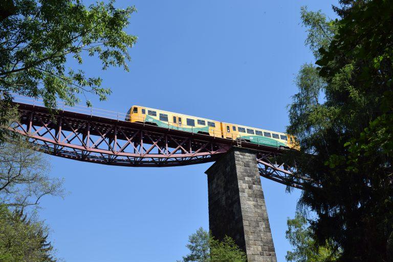 Po stopách železa na Plzeňsku - Železniční most Chrást