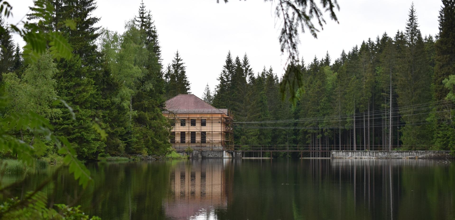 Přečerpávací vodní elektrárna Černé jezero
