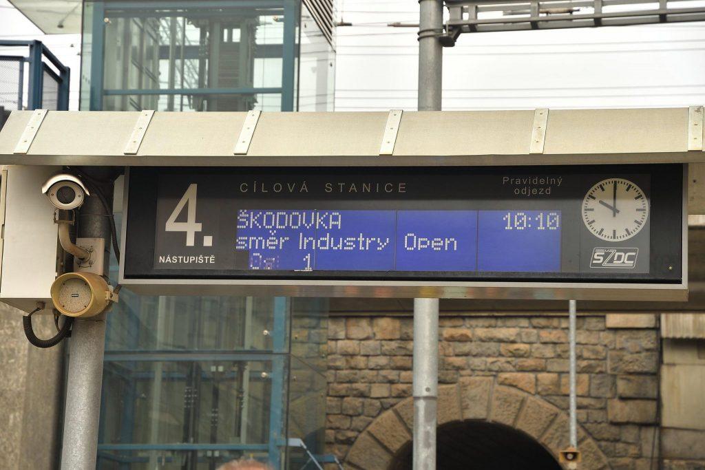 Vlakem do Škodovky s Industry Open