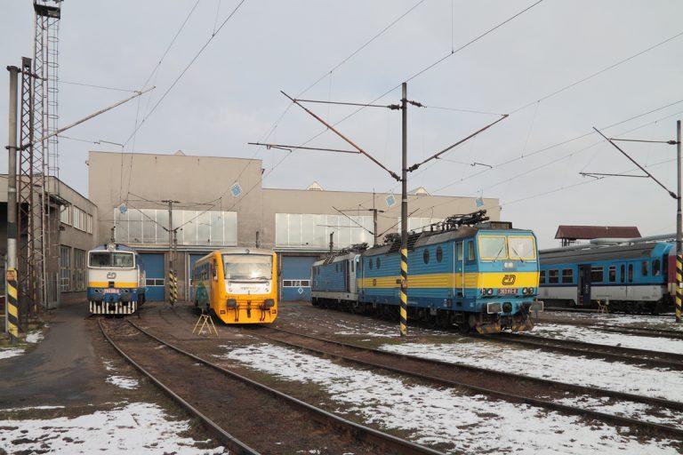 Oblastní centrum provozu západ - depo kolejových vozidel Českých drah v Plzni