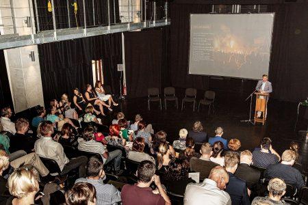 Konference Industry Open 2019 v kulturním centru Moving Station